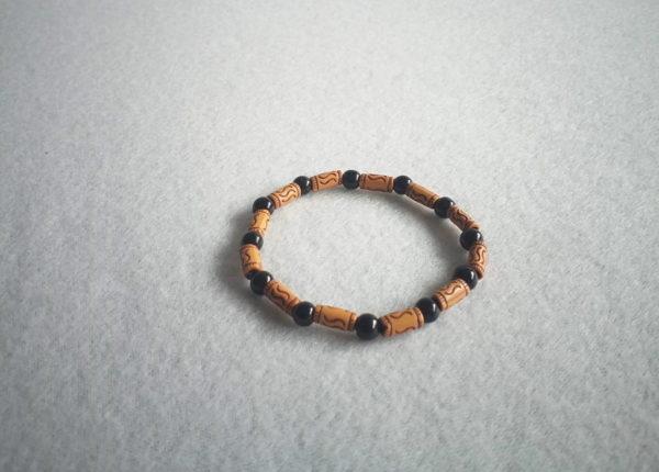 Bracelet africain extensible pour femme ou homme