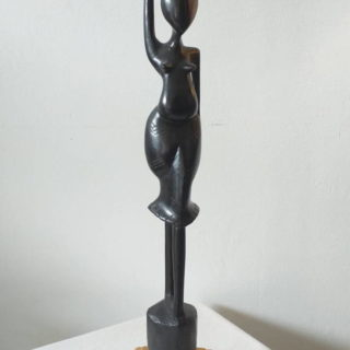 Grande statuette africaine en bois