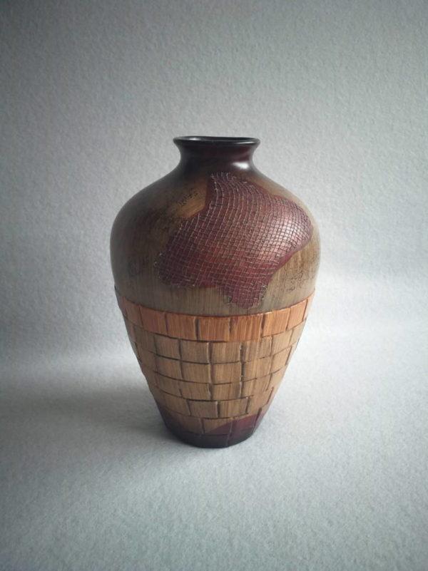 Vase africain déco de style ethnique