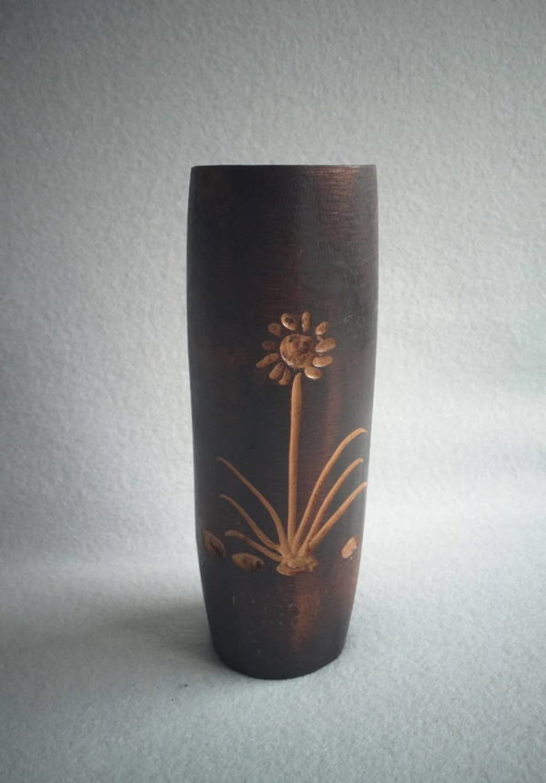 Vase en bambou naturel