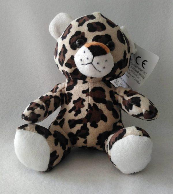 Peluche doudou panthère léopard