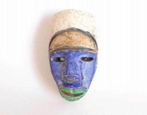 Masque passeport africain de l'Ogooué Ivindo au Gabon